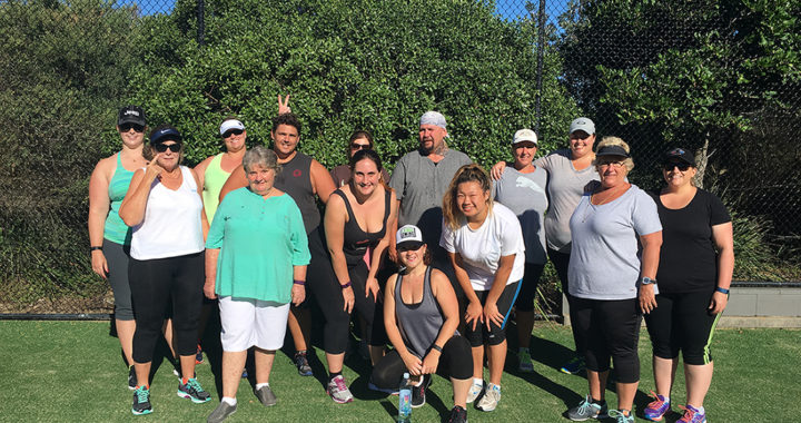 Weight loss training camp